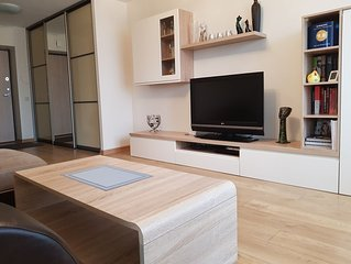 50 m2 two rooms nice and comfortable apartments with big balcony!