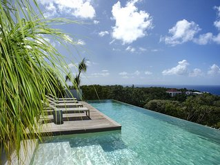 Gorgeous Villa located on Gouverneur Hillside, 40-Feet Swimming Pool, Free Wifi,