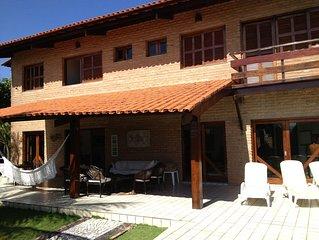 Beautiful exclusive house in Cumbuco