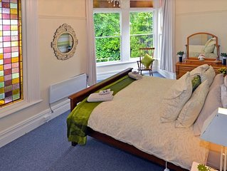 Beautiful Villa Accommodation in lovely garden setting. Decorated with flowers.