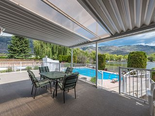 NEW Listing.  Beautiful  home in OSOYOOS on the water with pool and private dock