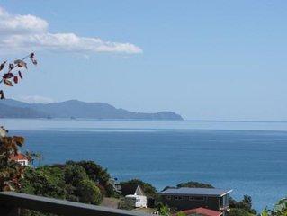 Stunning 180 degree sea views