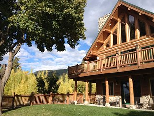 Beautiful Log Home Overlooking Flathead Lake. Now booking for 2020!