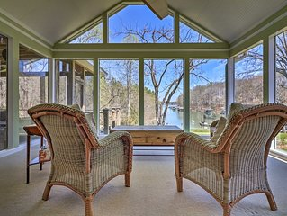 NEW! Waterfront Home on Lake Lanier w/Dock + Slip!