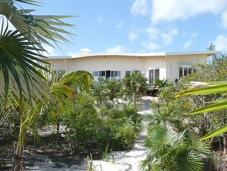 A luxury beachfront villa with superb ocean views