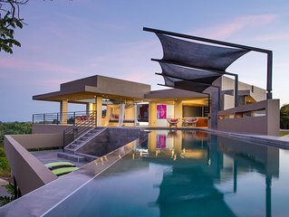 Secluded Breathtaking Los 3B's Luxury Villa with Salt Water Pool