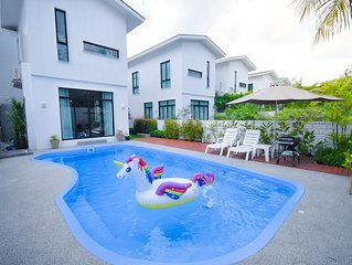 MONO4838 3BR with Private Swimming Pool in Phuket 3 minute from beach
