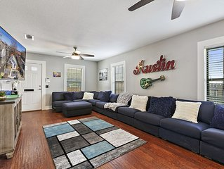 (NEW) ATX Fun-Scape, 11 beds, 2 miles to downtown