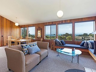 Meadow Getaway with Private Hot Tub, Walking Distance to Shell Beach & Tide Pool