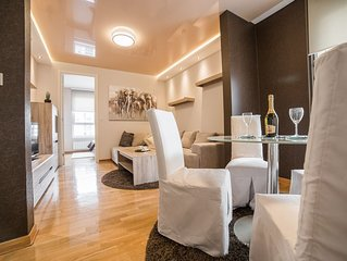 BeGood apartment in Belvil in New Belgrade with a parking place .