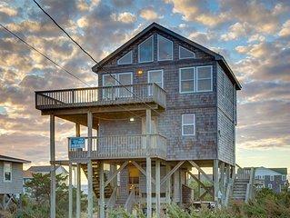 Makin'  Waves - Picturesque 4 Bedroom Semi-Oceanfront Home in Waves