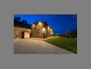 Stunning 4 Bedroom Villa near Lucca