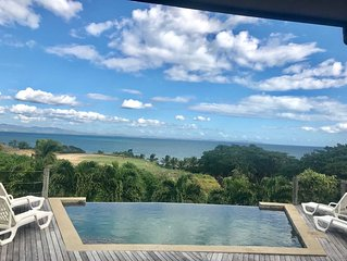 Fiji Holiday home- Sea side dream vacation home with a private pool.