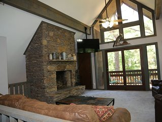 Winter monthly rates -- Kentucky Lake Chalet with private lake access