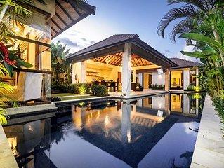 SEMINYAK, Great Value, 5 Bedroom villa