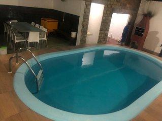 Casa com piscina na paria de Atalaia, acomoda 30 pessoas,79-********** vivo/zap