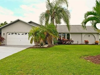 Alluring Cape Coral Home with Pool, Lanai, & Dock  with gulf access!