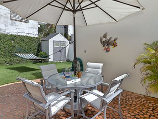 Comfortable garden apartment tastefully decorated and equipped for you to enjoy