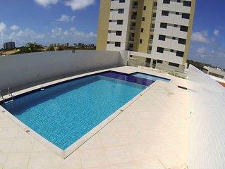 Apartamento novo 3/4, confortavel e bem localizado