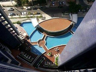Luxo apt Fortaleza Beira Mar 7 piscina , academia , Frente mar