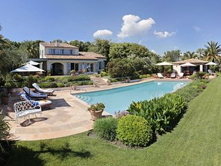 Splendid Villa near Valbonne in a Peaceful and Secure private domain.