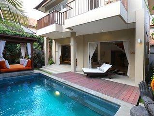 Del Mar 2, 2 Bedroom Villa, Right by the Beach, Seminyak