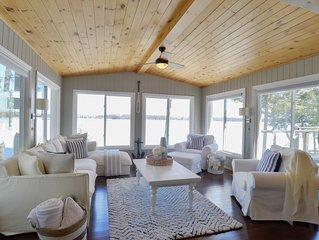 Gorgeous Lake Muskoka Cottage with Amazing Views & Hot Tub