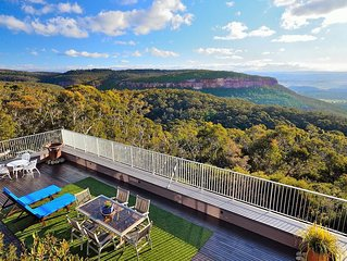 Redcliffe, Blackheath - Breathtaking Escarpment and Valley Views