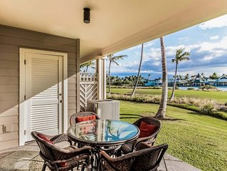 Waterfront Golf Course Villa w/ Resort Hot Tub, Pool, Gym- WiFi, Lanai & AC