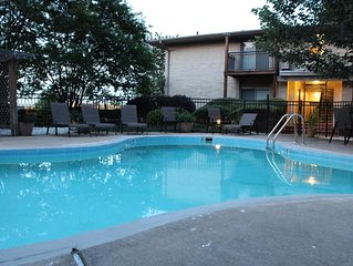 Poolside Escape near Downtown Little Rock, AR