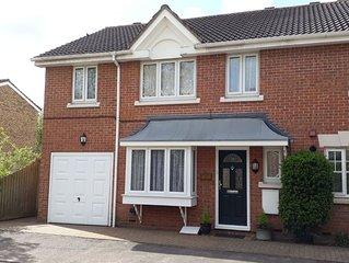 4 Bed 2 bath Hse in Sawbridgeworth good for London, Cambridge, Stansted Airport