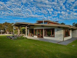 Kanuka Terrace - Eco Strawbale House,