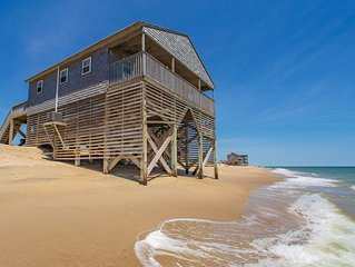 Sandscape - Enjoy the ocean at your feet 4 bedroom oceanfront in Rodanthe