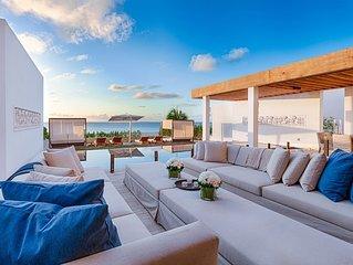 Kishti on Meads - Beachfront - Luxury 6 Bedroom Villa