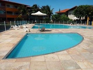 Ótimo apartamento no Cartier praia do futuro 2 Quartos, com piscina