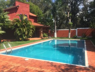 Cozy and beautiful bungalows with nice terrace and pool !!!