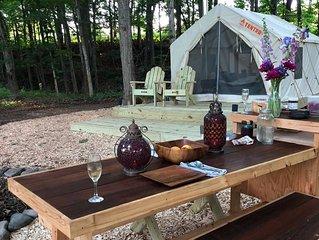 Tentrr - Creekside Zen in the Catskills