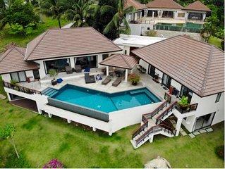 6 Bedroom Panoramic Sea View Villa Angthong Hills