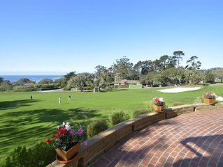 Classic Golf Retreat on the 14th Green at Pebble Beach