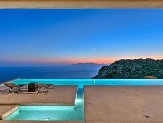 Villa Mylo 5 Bedrooms Sea View Villa Mylopotas Ios