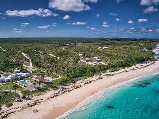 Impeccable Oceanfront Estate On Your Own 1200 Feet Of Private Pink Sand Beach