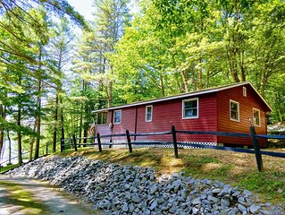 #5 Fireside *Birchwood Cottages at Loon Lake. Family Friendly Waterfront