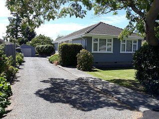 Holiday or relocating this Christchurch home in Burnside / Ilam is perfect