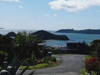 Holiday Home, with stunning sea views over Paihia