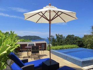 Kata 1 Bedroom Ocean View Private Pool Penthouse Walk To Beach