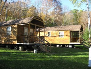 Dreams Park Cabin with full use of Beaver Valley amenities: pool, fishing, etc