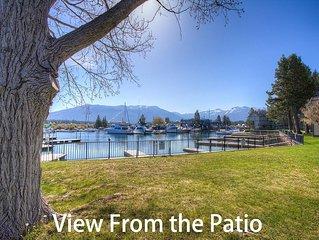 Tahoe Keys w/Boat Dock, BBQ, Fireplace, Walk To Beach, Pets OK (TKC0604)