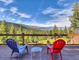 Chamberland Getaway: 2 miles from Homewood, filtered lake views on BBQ deck