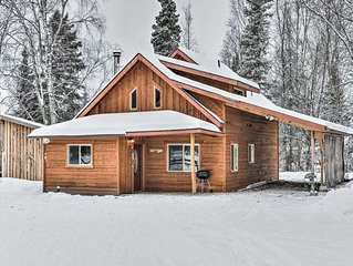 NEW! Chinook Cabin conveniently located near town and Kenai River