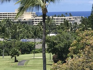 100% cancel refund** Golf course luxury 2/2 condo on Golf  w/ocean views, WiFi
